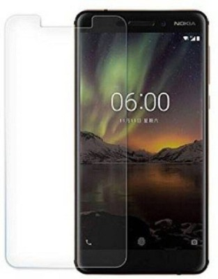 Power Tempered Glass Guard for Nokia 6.1(Pack of 1)