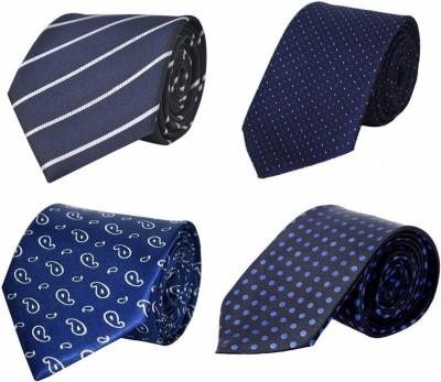 StyleRide Graphic Print Tie(Pack of 4)