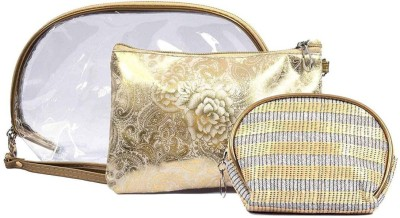 Color Fever Cosmetic Pouch Gold