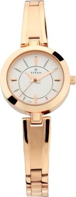 TitanNN2598WM01 Analog Watch   For Women