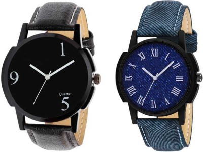 Royal Wedding Designer Multicolour black blue Couple Watch For boy And Girls Analog Watch   For Boys   Girls Royal Wrist Watches