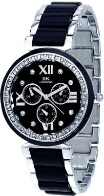 IIK Collection Chronograph Pattern Classic Analog Watch   For Women IIK Collection Wrist Watches