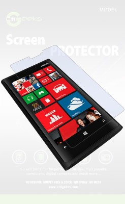 CHAMBU Edge To Edge Tempered Glass for Nokia Lumia 920(Pack of 1)