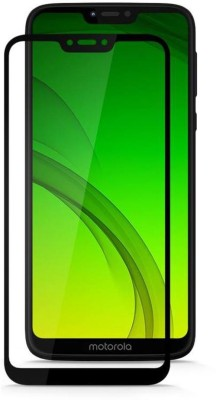 Ultimate Edge To Edge Tempered Glass for Moto G7(Pack of 1)