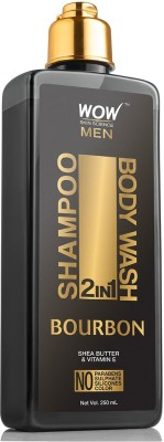 WOW Skin Science Bourbon 2-in-1 Shampoo + Body Wash