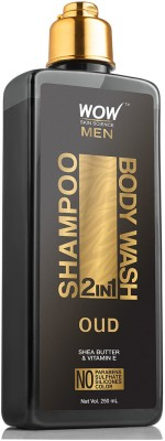 WOW Skin Science Oud 2-in-1 Shampoo + Body Wash