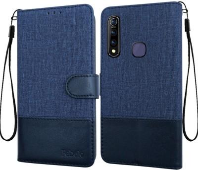 Febelo Flip Cover for Vivo Z1 Pro(Blue, Cases with Holder)