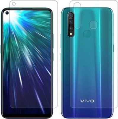 FIRST IMPRESSION Front and Back Tempered Glass for Vivo Z1 Pro(Pack of 2)