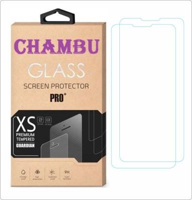 CHAMBU Tempered Glass Guard for LG Optimus L7 II Dual P715(Pack of 2)