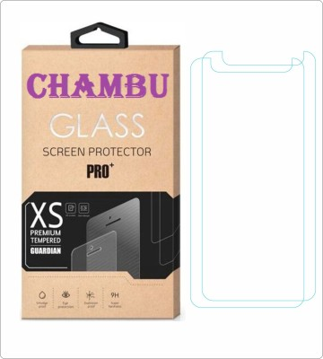 CHAMBU Tempered Glass Guard for Micromax Bling 3 A86(Pack of 2)