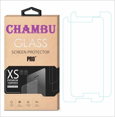 CHAMBU Tempered Glass Guard for Micromax A76 Canvas Fun(Pack of 2)