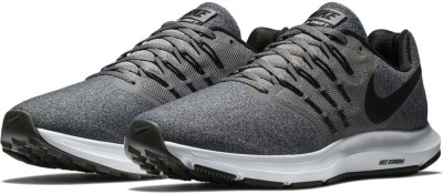 Nike Run Swift Running Shoes For Men(Black) at flipkart