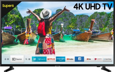 Image of Samsung 50 inch 4K Ultra HD Smart LED TV which is one of the best tv under 50000
