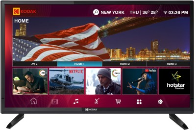 Image of Kodak 32 inch HD Ready Smart LED TV which is one of the best tv under 15000