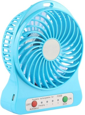 Sheling Mini Cooler for Home and Car MFAC109 MCB109 USB Fan Blue