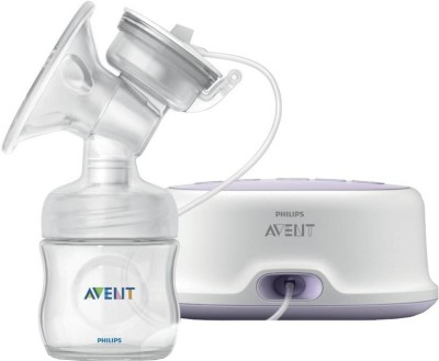 Philips Avent Comfort Single Electric Breast Pump  - Electric(White)