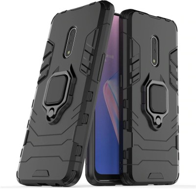 KWINE CASE Back Cover for Realme X(Black, Rugged Armor)