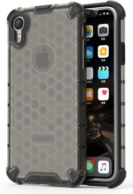 Zivite Bumper Case for Apple iPhone XR(Clear Black)