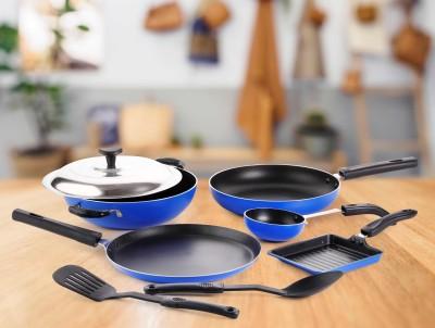 Crystal Eco Series Cookware Set(PTFE (Non-stick), 8 - Piece)