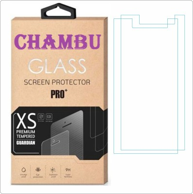 CHAMBU Tempered Glass Guard for Micromax Bolt A068(Pack of 2)