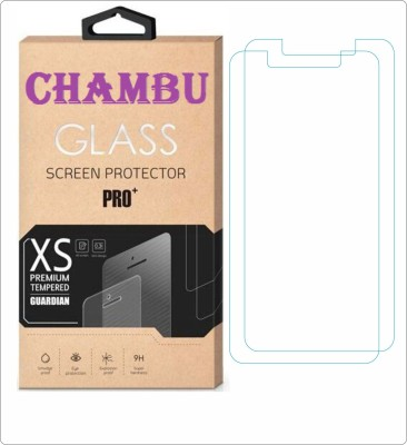 CHAMBU Tempered Glass Guard for Micromax D321(Pack of 2)