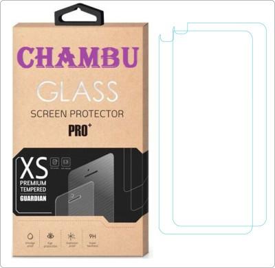 CHAMBU Tempered Glass Guard for Motorola Moto Z Play Pack of 2 CHAMBU Screen Guards