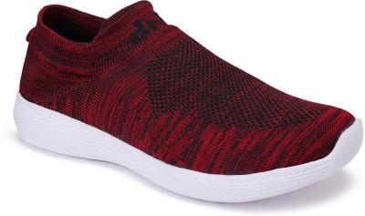 Density SOCKS Running Shoes For Men Red Density Sports Shoes