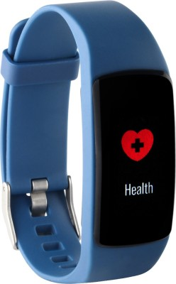 Gusto by Helix HRM Fitness Band(Blue Strap, Size : Regular)