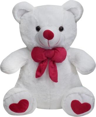 Ultra Spongy Teddy Bear Soft Toy   15 inch White Ultra Soft Toys