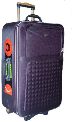 Ossum Suitcase Expandable Check in Luggage   24 inch