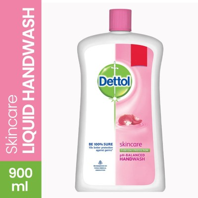 Dettol Liquid Soap Jar - Skincare Bottle(900 ml)