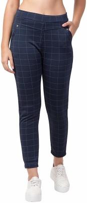 VIdya Enterprises Legging(Blue, Checkered)