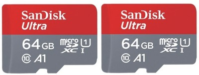 SanDisk A1 64  GB MicroSDXC Class 10 100 MB/s Memory Card