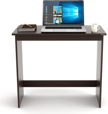 Bluewud Clonard Engineered Wood Study Table(Free Standing, Finish Color - Wenge)