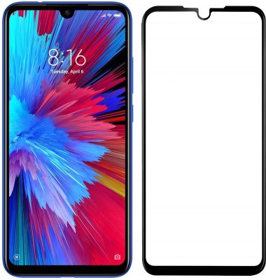thogai Edge To Edge Tempered Glass for Redmi Note 7S(Pack of 1)