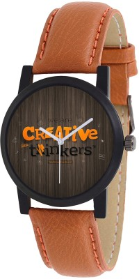 Nubela Creative Thinkers Special Edition New Brown Color S1 Analog Watch  - For Men