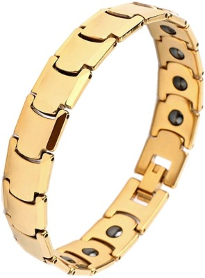 the jewelbox Stainless Steel Gold-plated Bracelet