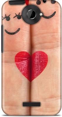 Flipkart SmartBuy Back Cover for HTC one X(Red, Beige, Black)