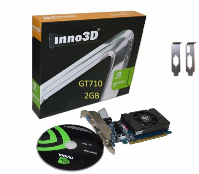 inno3d NVIDIA GT710 2GB PCI Express Graphic Card 2 GB DDR3 Graphics Card
