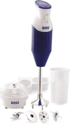 BOSS Big (B115) 160-Watt Portable Blender 180 W Hand Blender(Blue, White)