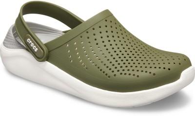Crocs Men Green Sandals