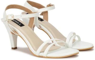 Denill Women White Heels