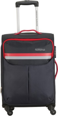 American Tourister DETROIT SPINNER 70 CM- GREY Expandable  Check-in Luggage - 27 inch(Grey) at flipkart