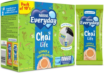 Nestle Everyday Chai Life Ginger, Lemon Grass Instant Tea Box (160 g)