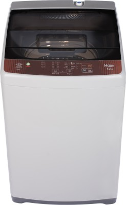 Haier 6.2 kg with Ariel Wash Feature Fully Automatic Top Load Brown,...