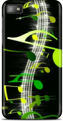 Flipkart SmartBuy Back Cover for Blackberry Z10(Black, White, Green)