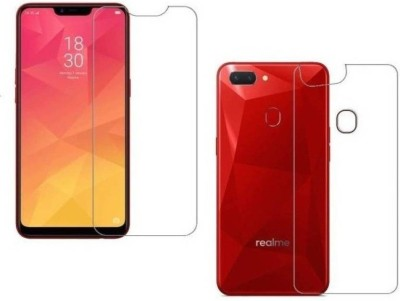 MBK Front and Back Screen Guard for Realme C1(Pack of 2)