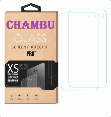 CHAMBU Tempered Glass Guard for Lenovo K900(Pack of 2)