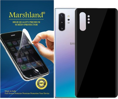 MARSHLAND Back Screen Guard for Galaxy note 10 plus(Pack of 1)