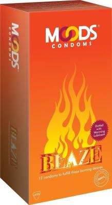 Moods Blaze Condoms (12 Condoms)